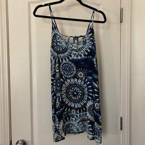 Forever 21 Tie Dye Slip Dress